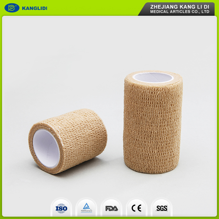 KLIDI Export To USA Green Color Animal Body Wrap Adhesive Elastic Bandage FDA Approved