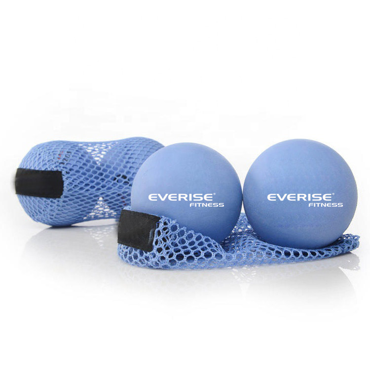 New Type Small Deep Tissue Mini Yoga Soft Semi-foaming Rubber Massage <strong>Ball</strong>