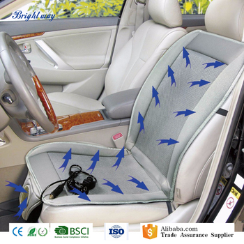 Summer Office Chair Cooling Car Seat Cushion For Short People