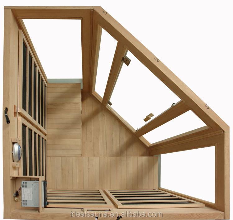 Esquina sauna calentador de carbono 3 persona sala de - Calentador para sauna ...