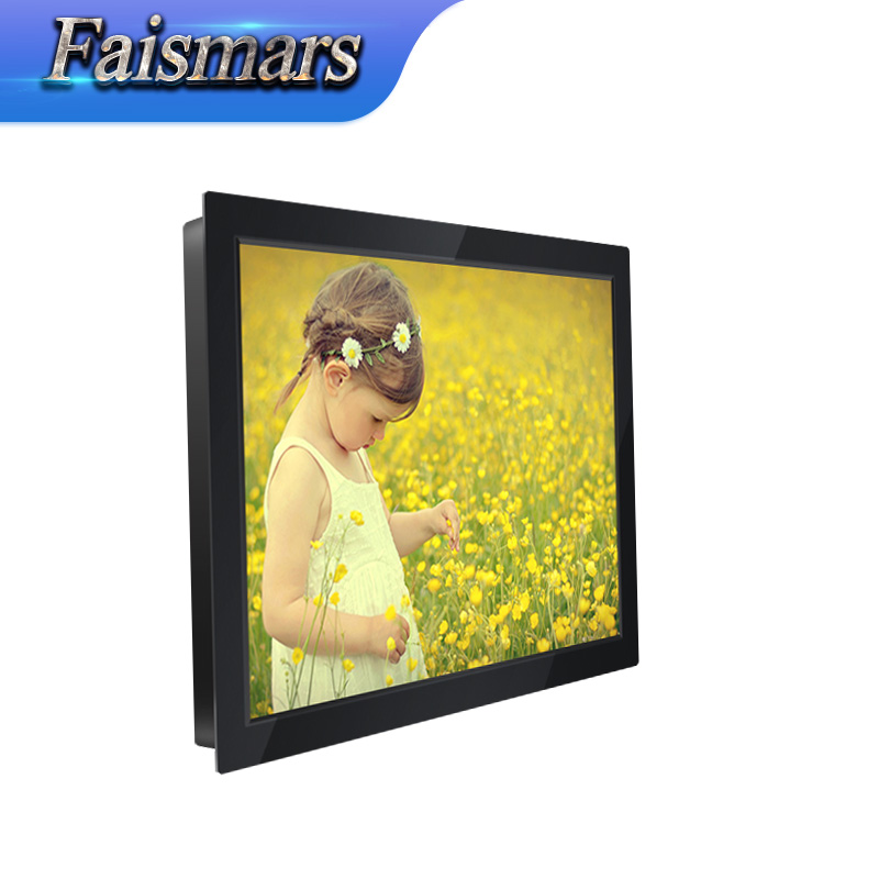 1400*1050 Resolution high definition 12.1 inch Resistive touch screen <strong>monitor</strong> with VGA/DVI/USB interface for commercial use
