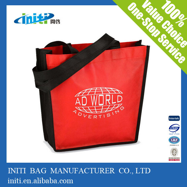 2015 alibaba ECO-friendly recycled caddie shopping bag for promotional