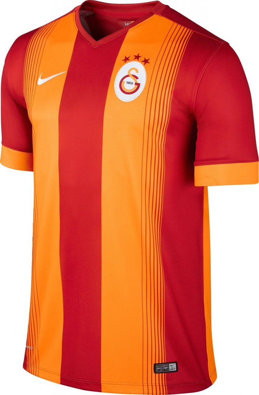 834f645a4 Get Quotations · 2014-2015 Galatasaray Home Nike Football Shirt