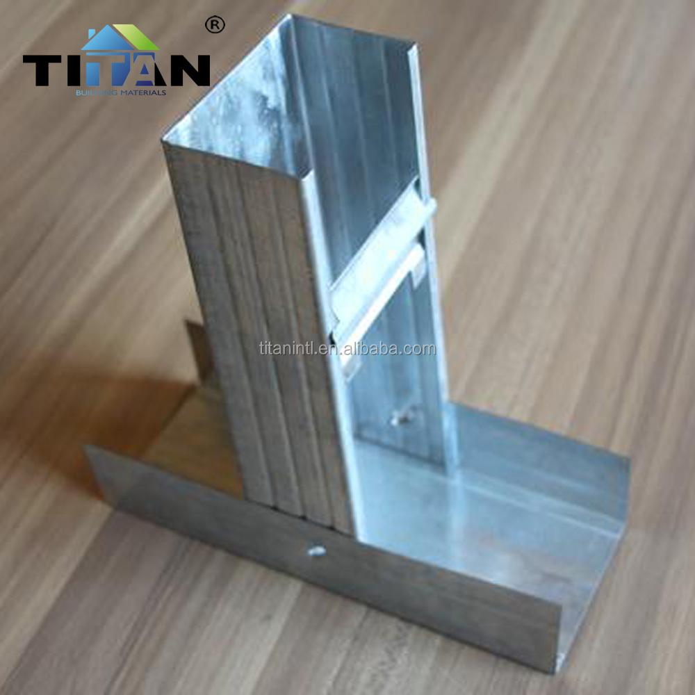 Drywall Partition Metal Stud Profiles Wall Angle
