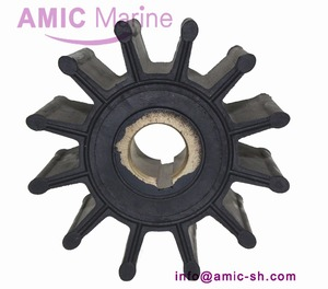 Flexible rubber impeller for Sherwood pump impeller 17000K