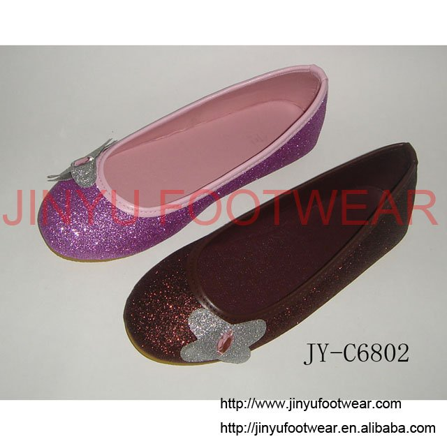 2010 Most fashionable glitter ladies' shoes