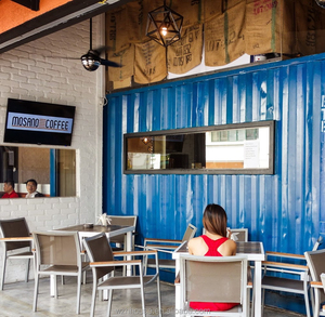 Easy Install Shipping Container Coffee Shop Project