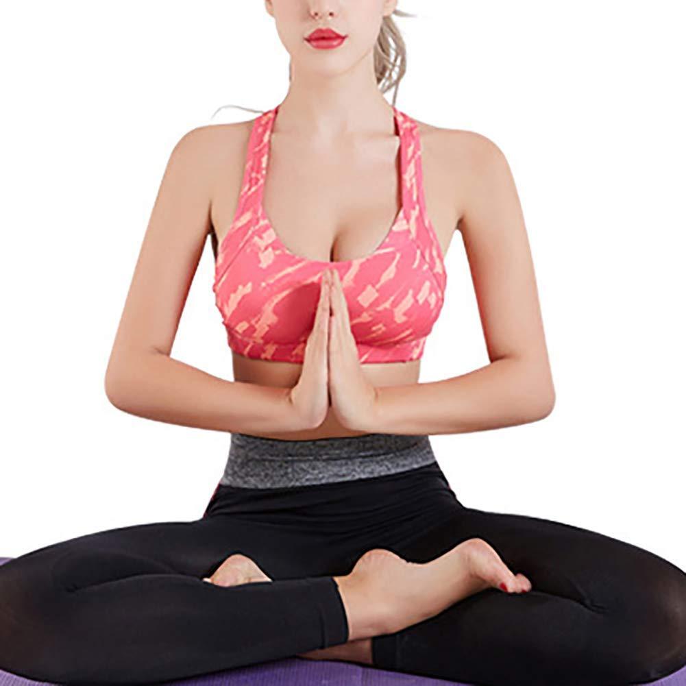 011eeaec62 Slendima Elastic Padded U-Neck Sports Yoga Bra