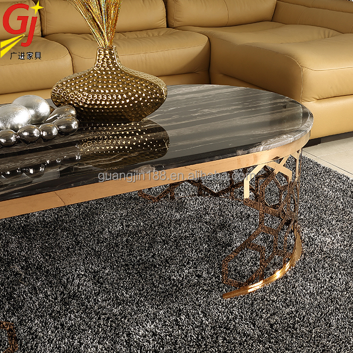 Lovely Marble Inlay Coffee Table Top Marble Center Table RT 931