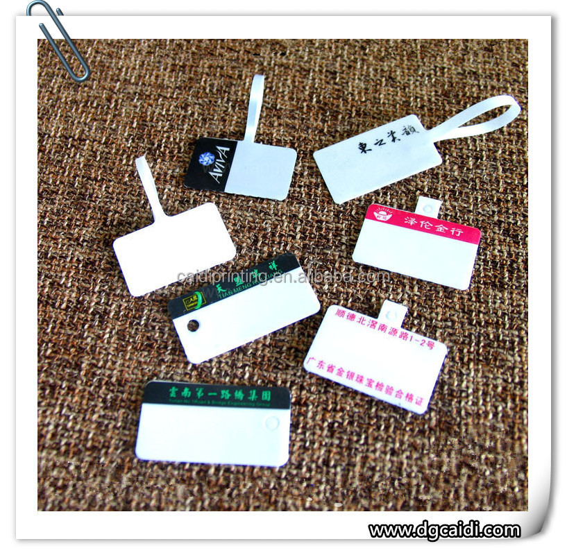 New style high quality paper jewellery tags
