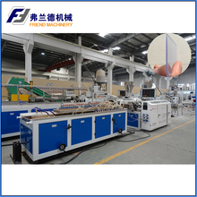 PVC tag price profile extrusion line /production line /extruder machine