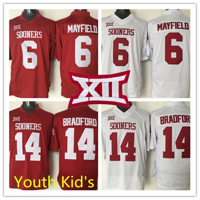 ... inexpensive bradford white authentic ncaa football jersey youth cheap  red ncaa oklahoma sooners big mens oklahoma 1dcc38452