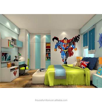 2017 ni o infantil esquina armario para ni os dormitorio for Dormitorio animado