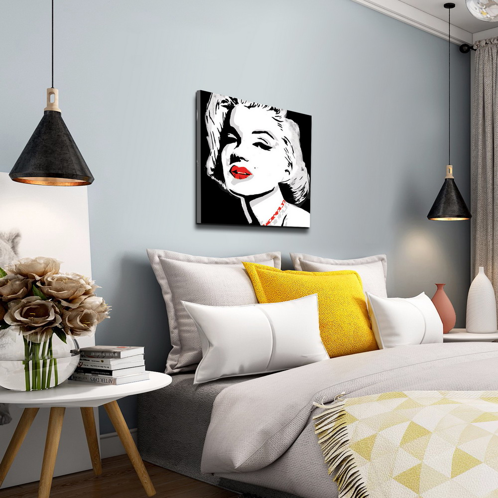 Modern art wall hanging beautiful lady figure canvas print oil painting  art for hotel decor