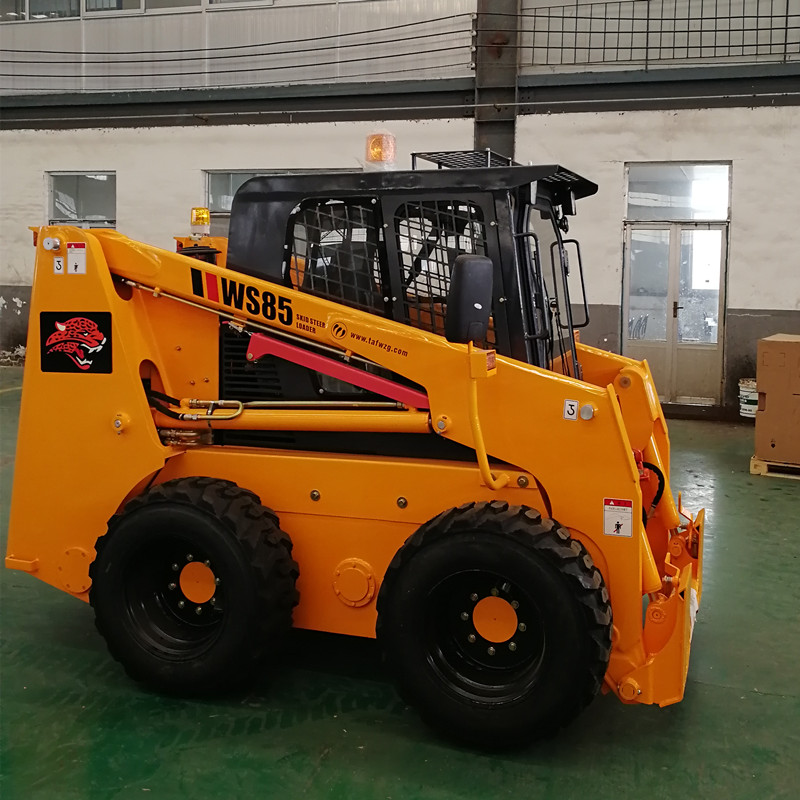 WS65 ป่าไม้ mulcher skid steer loader mulcher
