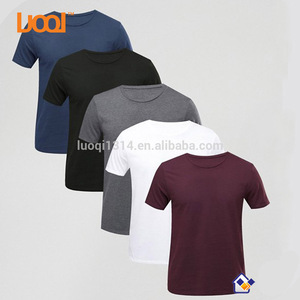 Wholesale Clothing Manufacturer 100% Cotton Bulk Screen Printing Custom Mens T Shirt Printing