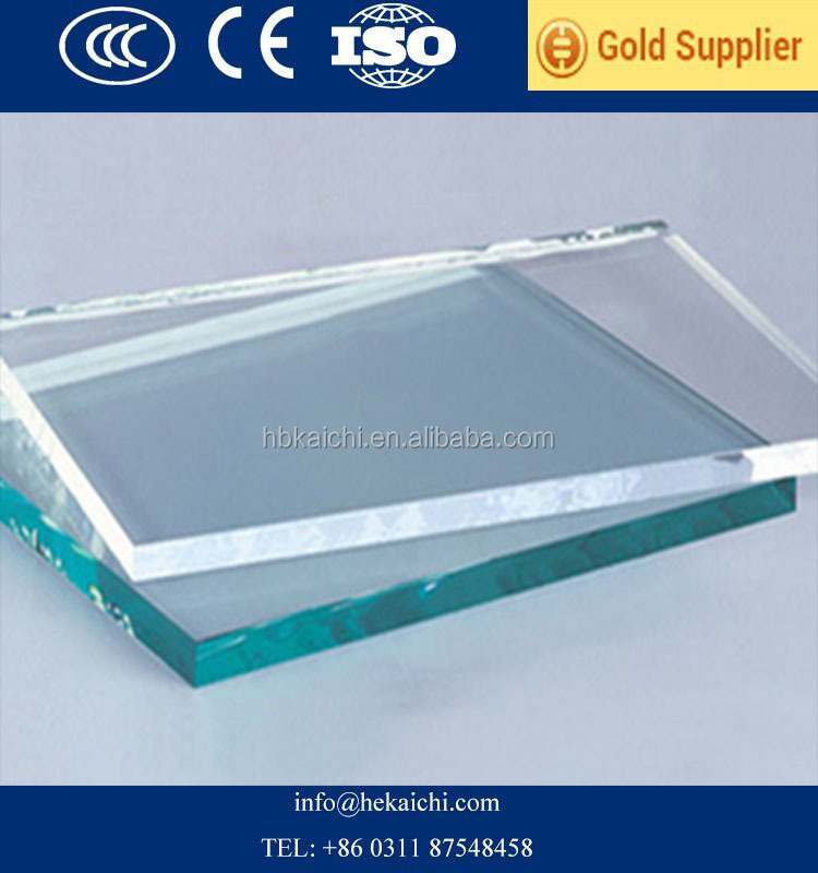 Solar Energy 3.2mm Low Iron Float Glass with CE & ISO certificate