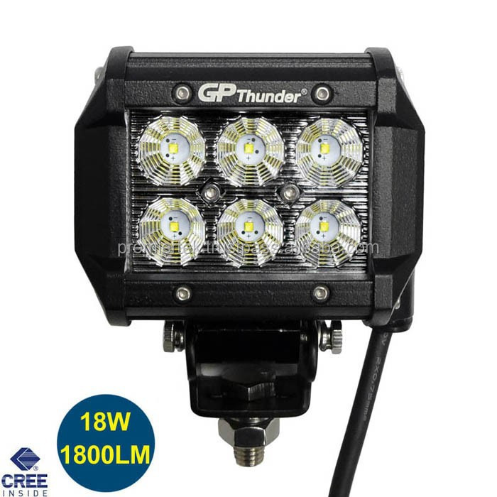 18W CREE led light bar ,4 inch led bar off road 4x4 car accessories