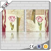 China manufacturer new coming 3d giclee flower canvas printing