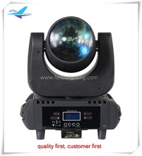 Mini led beam moving head manual 60w rgbwy uv 4 points or 9 points dj led light moving head