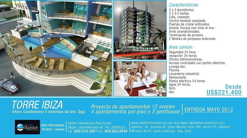 Torre Ibiza Santo Domingo Buy Oceanfront Property Product On Alibaba Com