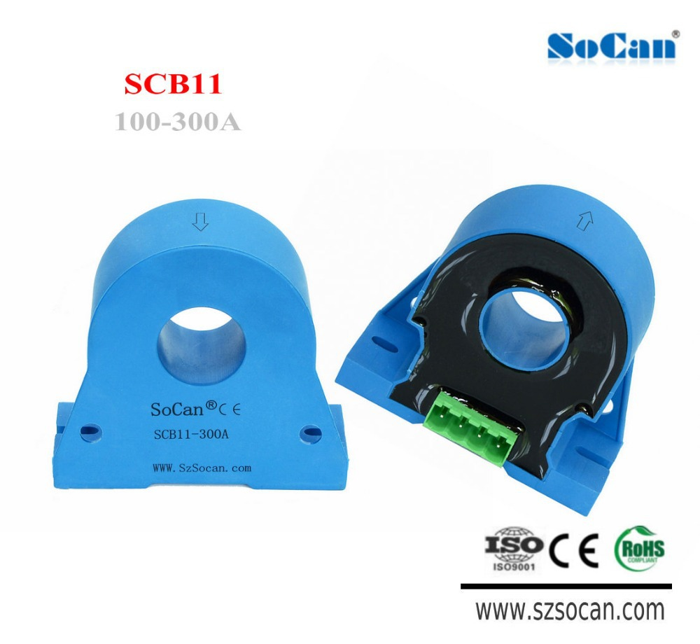 SCB11 Series 20mm diameter, ipn 50a-300a, motor hall effect sensor