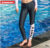 Custom Design Sublimation Anti-UV Fitness Sports Compression Swimwear and Beachwear Pants Women 2017
