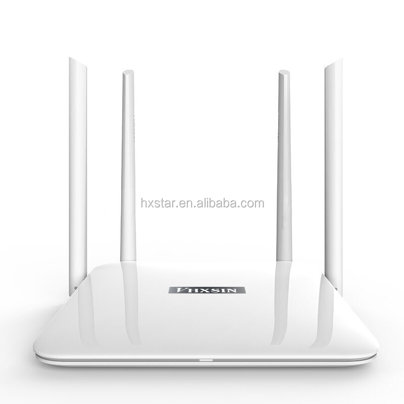 Hot Fast speed Enterprise 1200Mbps 802.11AC Dual Band 2.4G&5G Gigabit Port High Power WiFi Router Support 4 ports