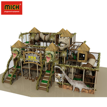 Jurassic Theme Playground Equipment Indoor Amusement Park