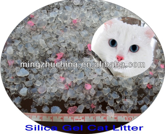 hot saling!!! silica gel cat litter
