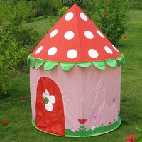 Child Play Princess Pink Castle Tent for Girls Indoor Outdoor Playhouse