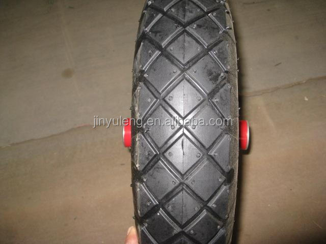 16 inch (16x4.00-8 )pneumatic rubber tyre for wheel barrow
