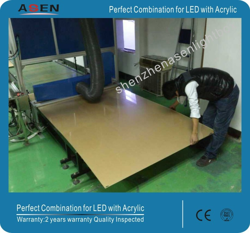 Laser Dotting Acrylic LED Light Guide Panel