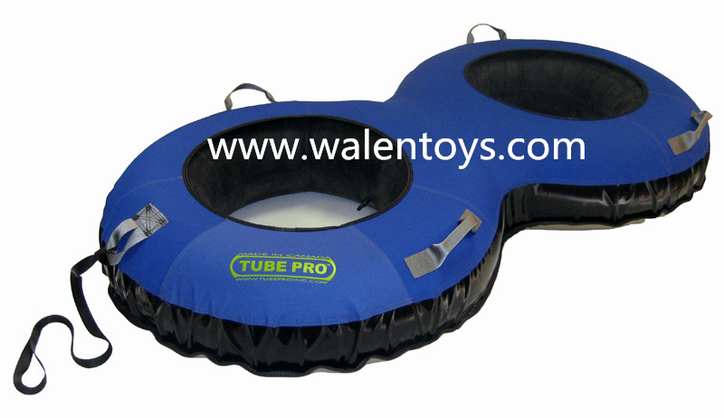 2 Person Inflatable Snow Tube/inflatable Snowtube