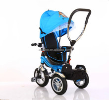 2017 china wholesale baby quinny stroller 3 in 1/children tricycle