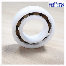 Plastic ball bearing 6801 6901 16001 6001 6201 6301 with material POM PP PTFE PEEK