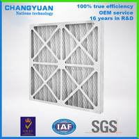 En779 G4 Air Filter, High Quality Pre Filter, cheap price panel Air Filter for AHU