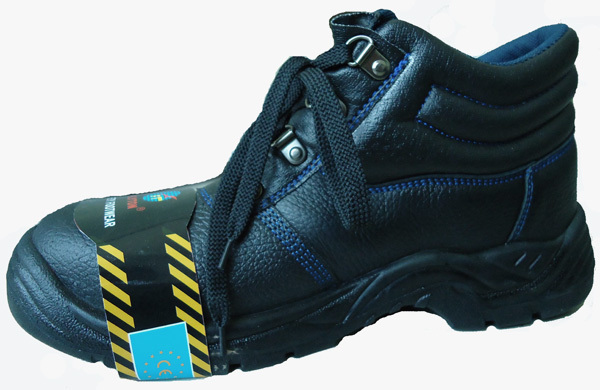 2014 New Lace Up Goodyear Safety Shoes Low Ankle Black Boots ...
