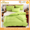 Soft 100% cotton plain design white plain hospital bedding set/hospital bedding linens