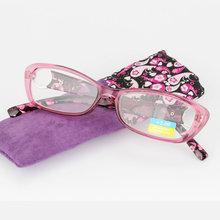 Калейдоскоп, очки, новые модные женские очки для чтения, очки с высокой дальнозоркостью, оправа, полимерные линзы, женские очки для чтения, к...(Китай)