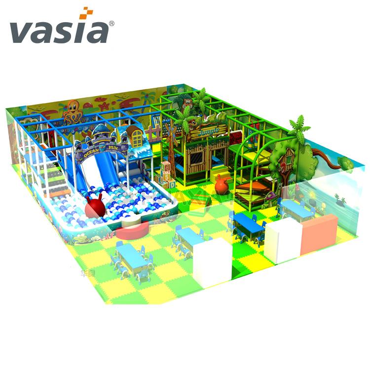 Tamaño personalizado Parque de Atracciones equipo del patio interior Malasia