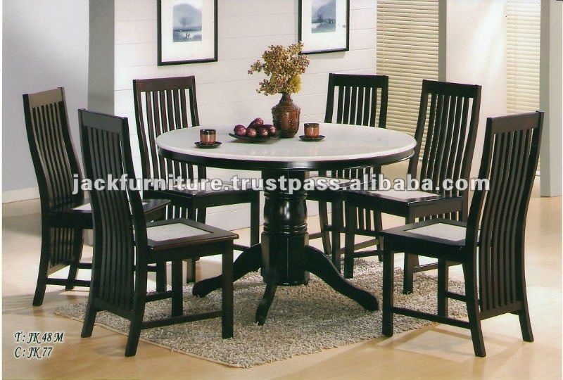 Marble Top Dining Table Sets