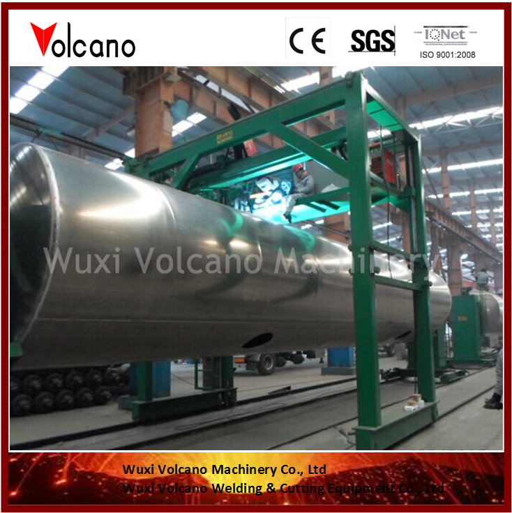 Automatic Welding Machine for Irregular Shaped Tank