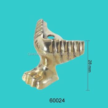 Brass Leg, Brass Feet, Golden Furniture Leg QW60024