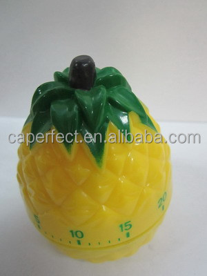 pineapple shape kitchen mechanical timer Microwave Oven Timer for promotional gift