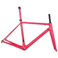 Super light road bike frames hight modulus Toray carbon t1000 all Internal cable bike frame FM066