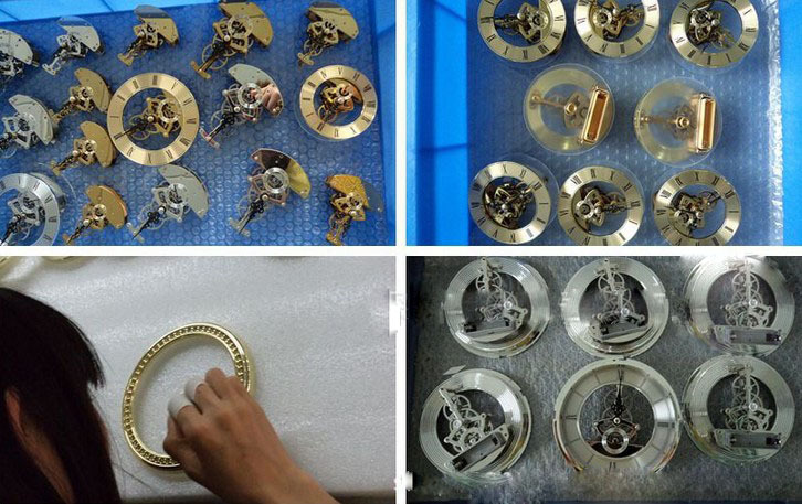 Skeleton Clock Insert Quartz Insert Clock Movement Oval
