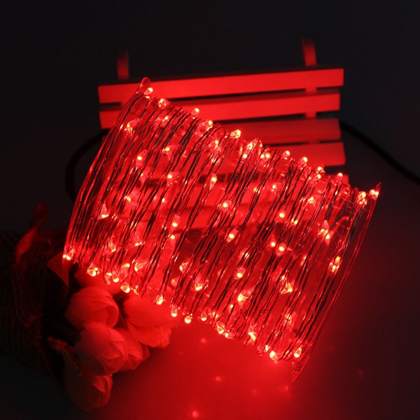 Fairy Lights Battery Operated Rice Lights 30 Steady Led Lights ...