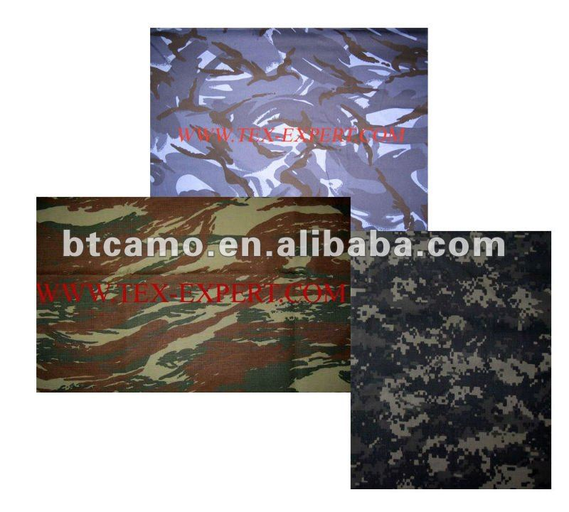 Defense Cotton Ocean Camouflage Fabric
