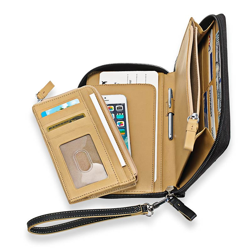 Detachable wallet leather case for iphone 5